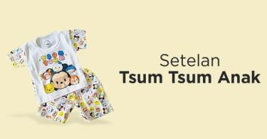 Setelan Tsum Tsum Anak