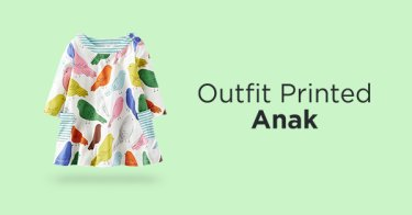 Outfit Printed Anak