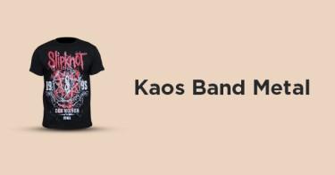 Kaos Band Metal Cimahi