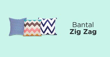 Bantal Zig Zag