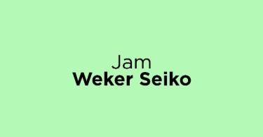 Jam Weker Seiko