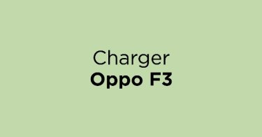 Charger Oppo F3 Bandung