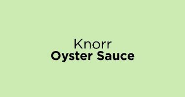 Knorr Oyster Sauce