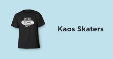 Kaos Skaters Kabupaten Cirebon