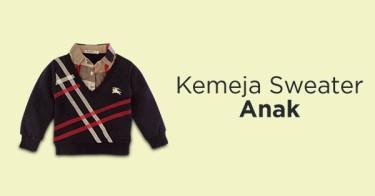 Kemeja Sweater Anak