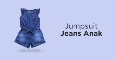 Jumpsuit Jeans Anak