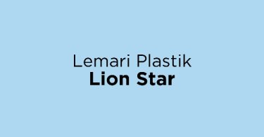 Lemari Plastik Lion Star