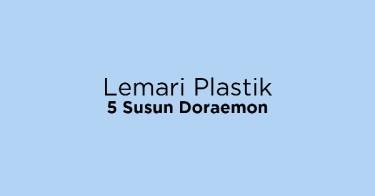 Lemari Plastik 5 Susun Doraemon