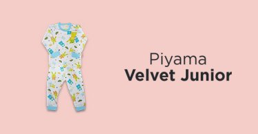 Piyama Velvet Junior