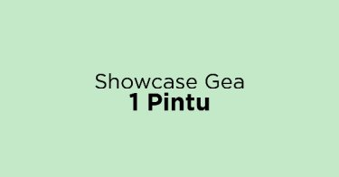 Showcase Gea 1 Pintu