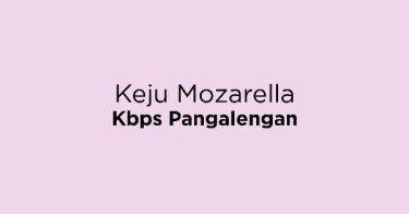 Keju Mozarella Kbps Pangalengan