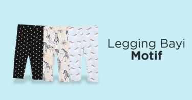 Legging Bayi Motif Bekasi