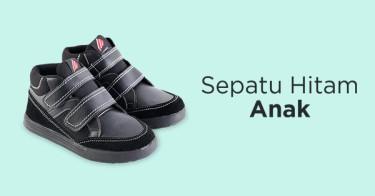 Jual Sepatu Hitam Anak  d1ed78efc3
