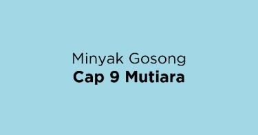 Minyak Gosong Cap 9 Mutiara