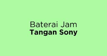 Baterai Jam Tangan Sony