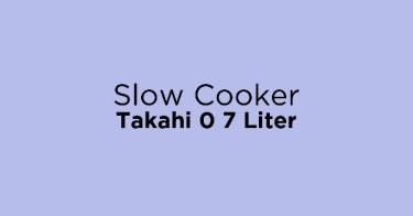 Slow Cooker Takahi 0 7 Liter