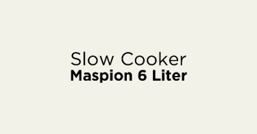 Slow Cooker Maspion 6 Liter