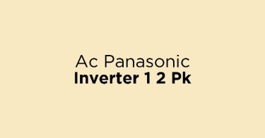 Ac Panasonic Inverter 1 2 Pk