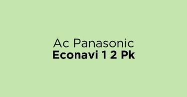 Ac Panasonic Econavi 1 2 Pk