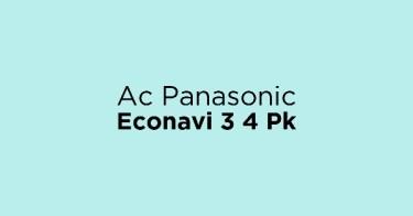 Ac Panasonic Econavi 3 4 Pk