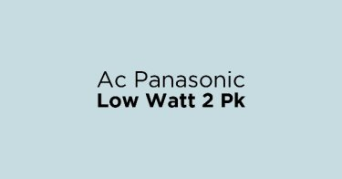 Ac Panasonic Low Watt 2 Pk
