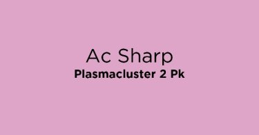 Ac Sharp Plasmacluster 2 Pk