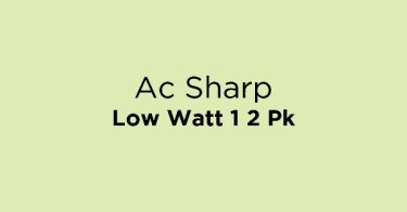 Ac Sharp Low Watt 1 2 Pk
