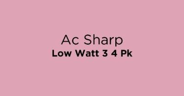 Ac Sharp Low Watt 3 4 Pk