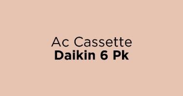 Ac Cassette Daikin 6 Pk