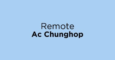Remote Ac Chunghop Bekasi