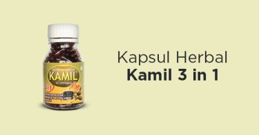 Kapsul Herbal Kamil 3 in 1