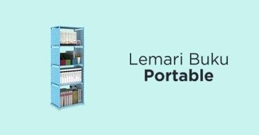Lemari Buku Portable Sidoarjo