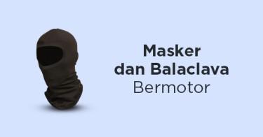 Masker dan Balaclava Bermotor