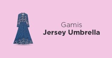 Gamis Jersey Umbrella