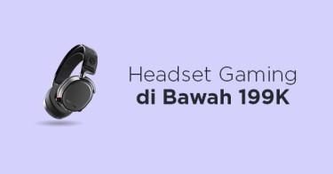 Jual Headset Gaming di Bawah 199K dengan Harga Terbaik dan Terlengkap