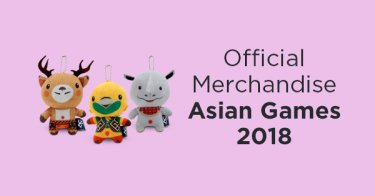 Official Merchandise Asian Games
