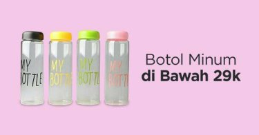 Botol Minum Termurah Bandung