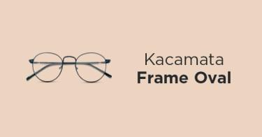 Kacamata Frame Oval Batang