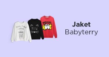 Jaket Babyterry