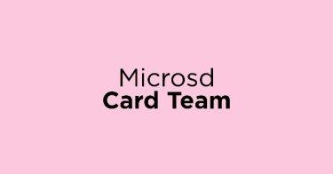 Microsd Card Team
