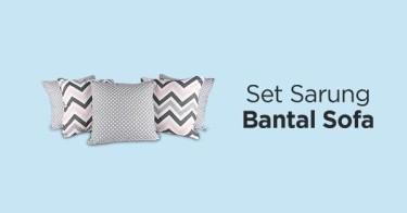 Set Sarung Bantal Sofa