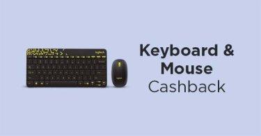 Mouse & Keyboard Cashback