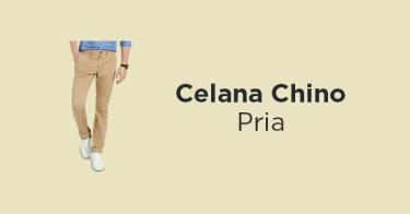 Celana Chino Pria
