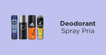 Deodorant Spray Pria
