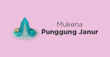 Mukena Punggung Janur
