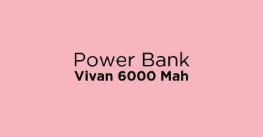 Power Bank Vivan 6000 Mah