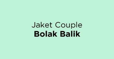 Jaket Couple Bolak Balik