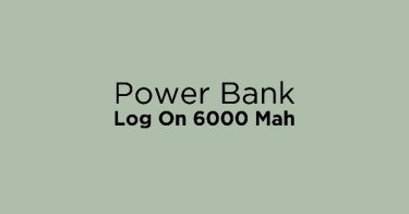 Power Bank Log On 6000 Mah