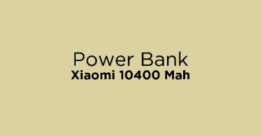 Power Bank Xiaomi 10400 Mah