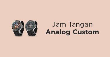 Jam Tangan Analog Custom Bandung